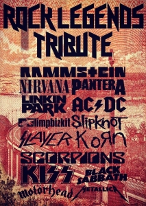 ROCK LEGENDS TRIBUTE